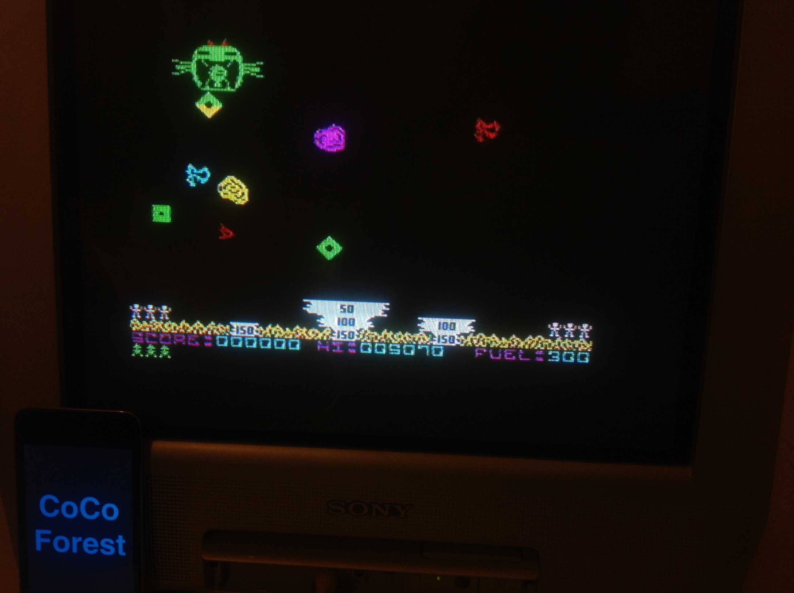 CoCoForest: SOS [Visions Software] (ZX Spectrum) 5,070 points on 2016-01-12 15:10:54