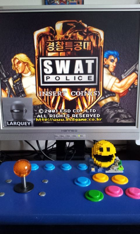 Larquey: SWAT Police [swatpolc] (Arcade Emulated / M.A.M.E.) 26,030 points on 2017-05-21 05:31:54