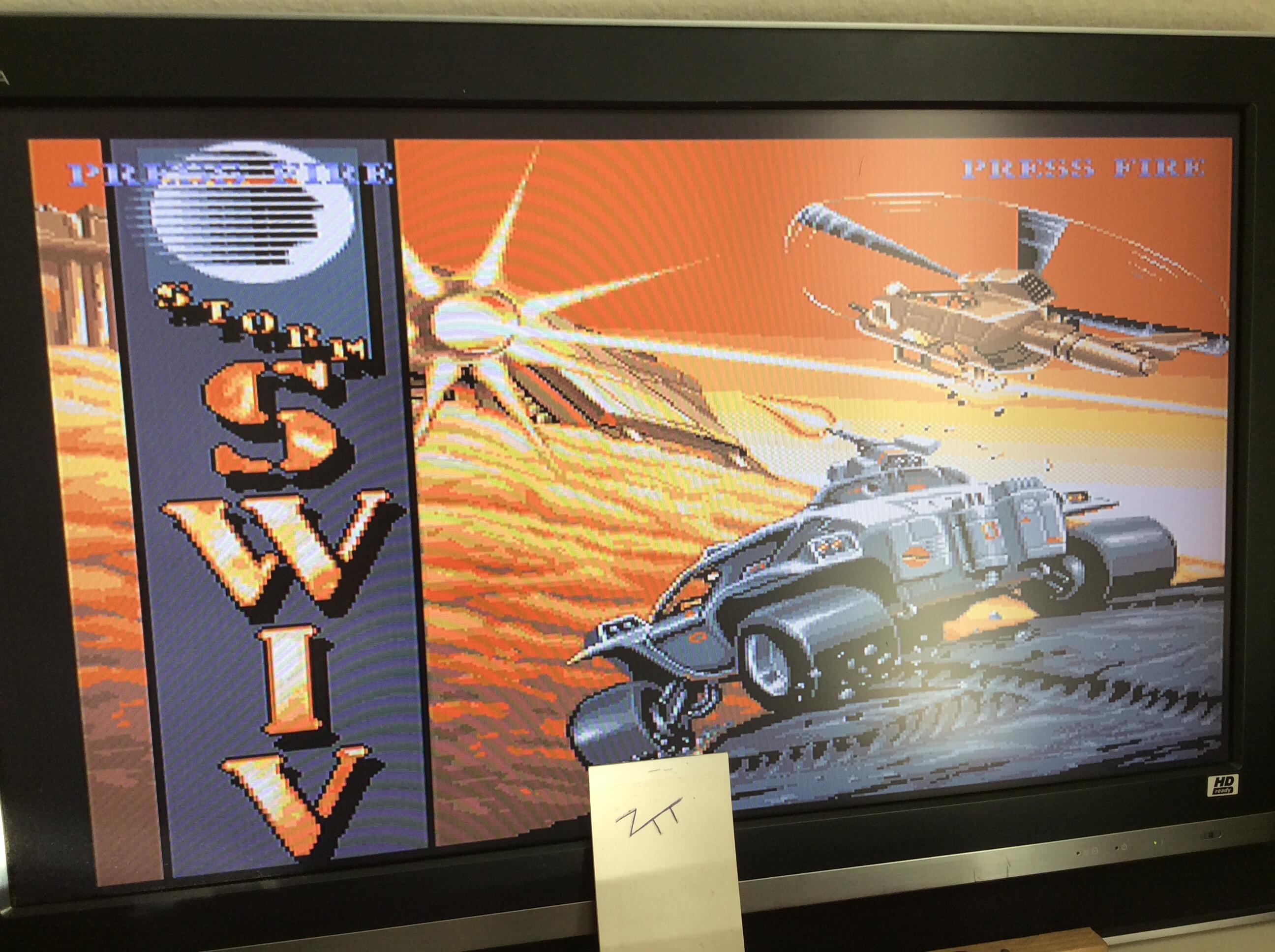 Frankie: SWIV (Amiga) 117,200 points on 2016-10-27 02:53:27