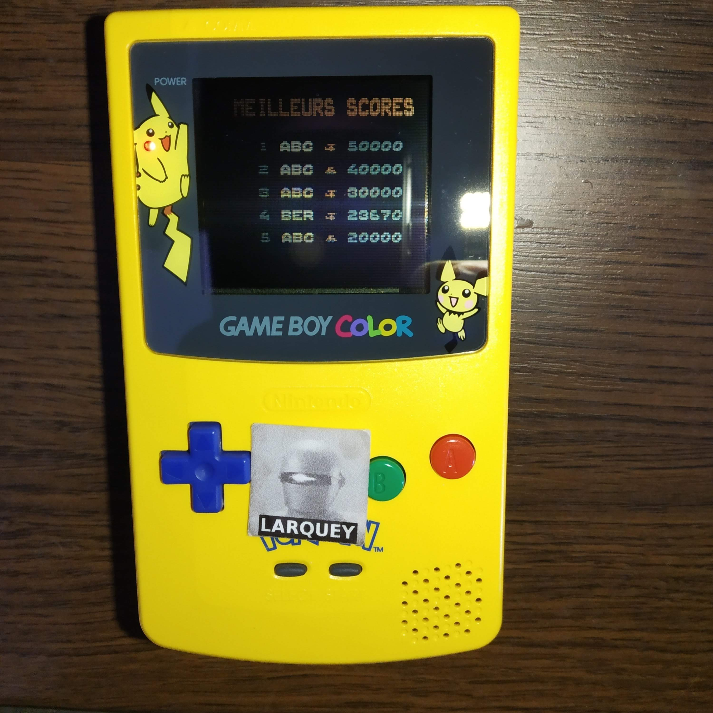 Larquey: SWIV (Game Boy Color) 23,670 points on 2020-07-11 11:40:57