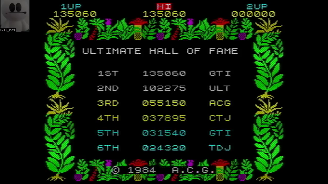 GTibel: Sabre Wulf [[Percentages * 100,000] + Score] (ZX Spectrum Emulated) 9,335,060 points on 2016-09-25 03:46:52