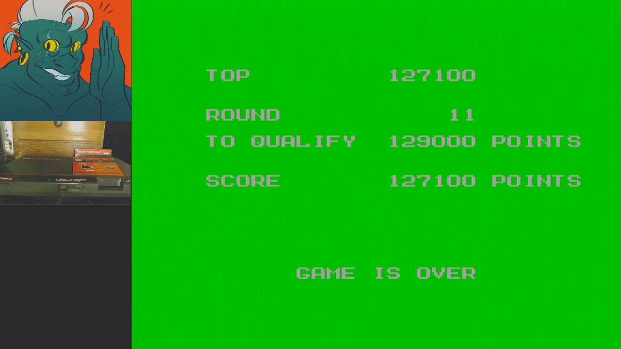 AwesomeOgre: Safari Hunt (Sega Master System) 127,100 points on 2019-05-02 07:36:54