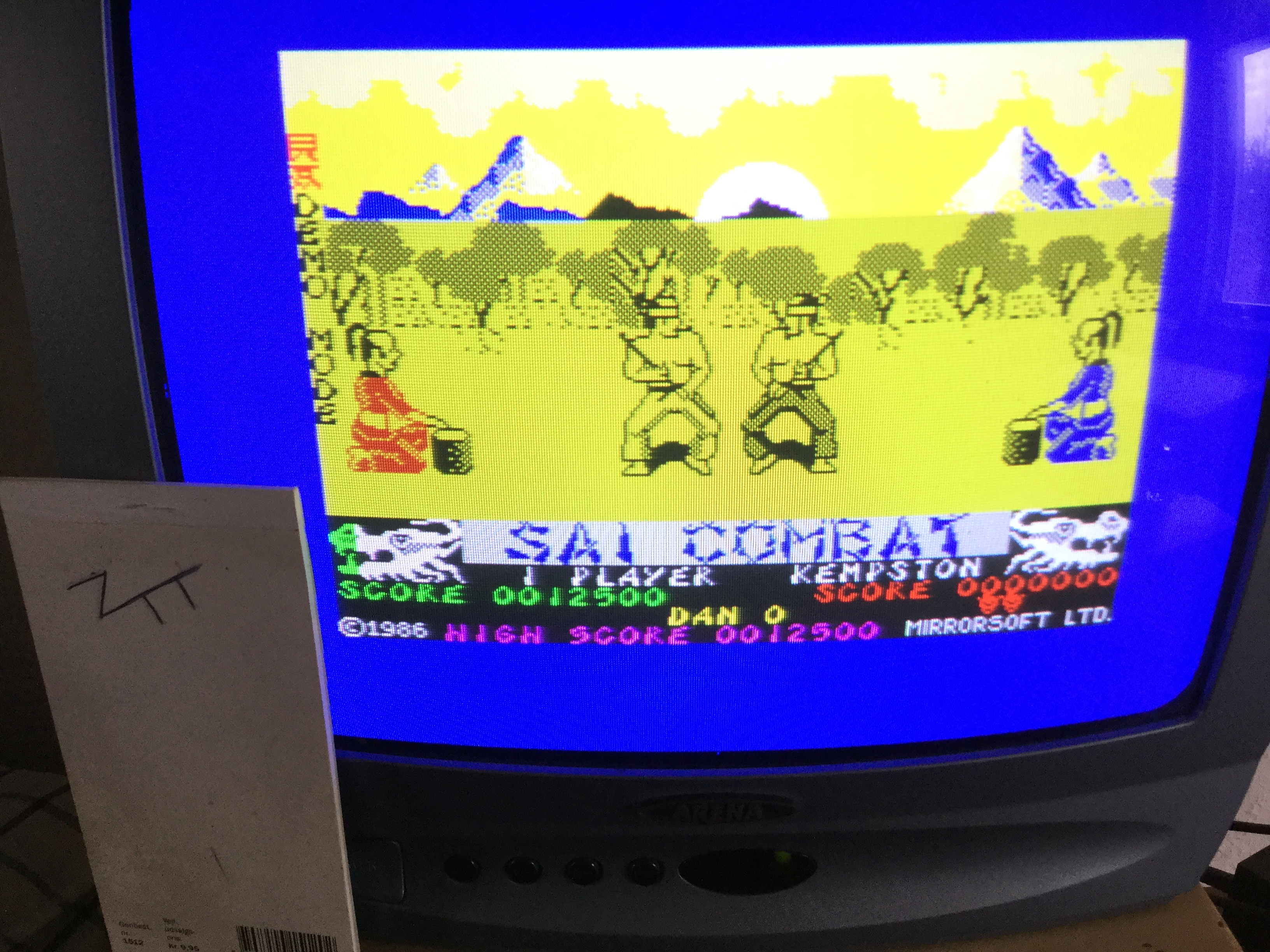 Frankie: Sai Combat (ZX Spectrum) 12,500 points on 2019-02-22 06:20:42