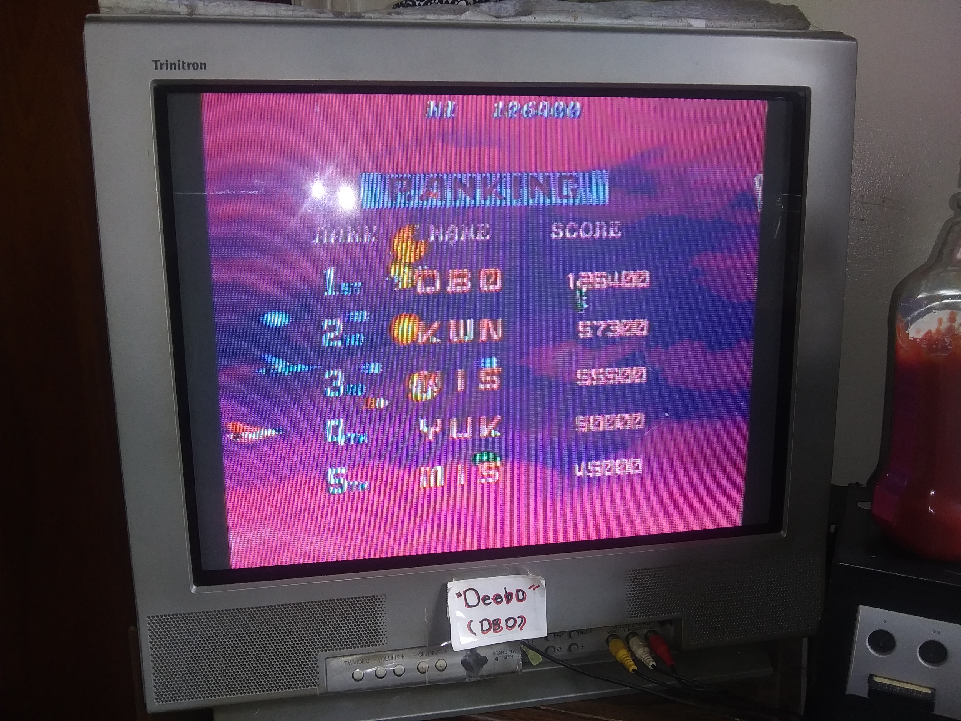 Deebo: Salamander 2 (Arcade) 126,400 points on 2019-07-16 14:39:00