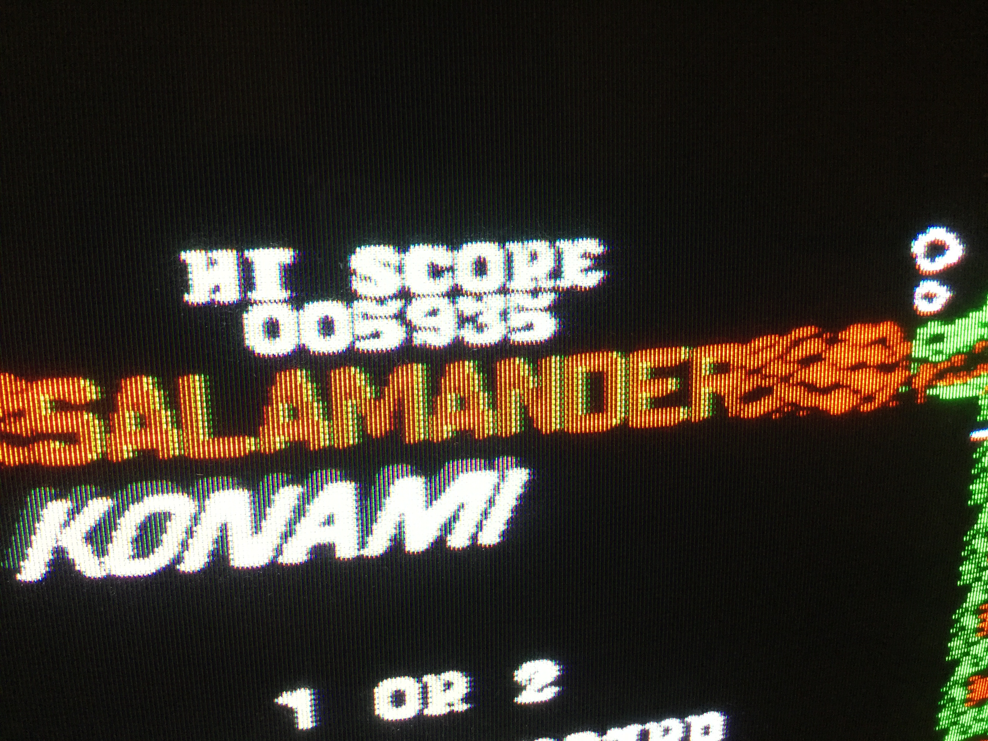 Frankie: Salamander (Amstrad CPC) 5,935 points on 2017-03-07 11:04:14