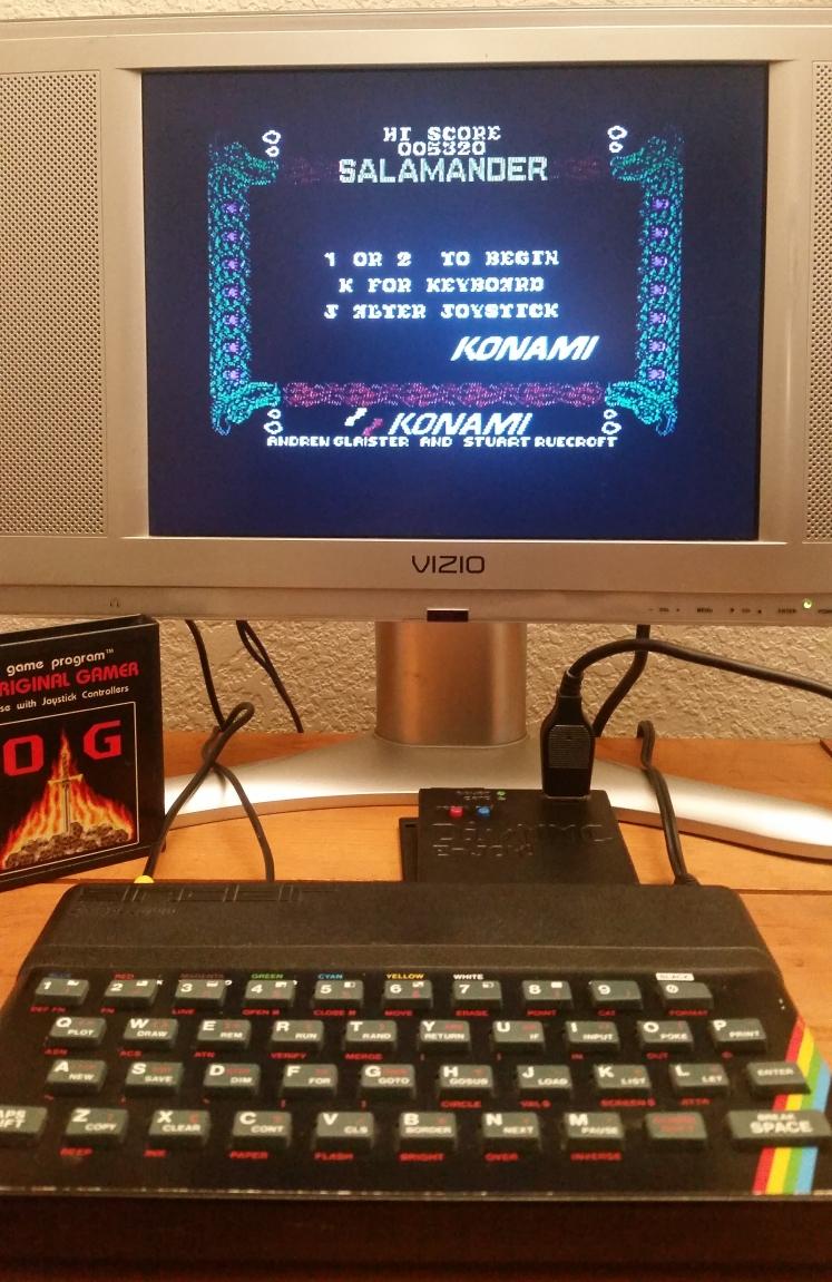 OriginalGamer: Salamander (ZX Spectrum) 5,320 points on 2017-12-17 00:51:43