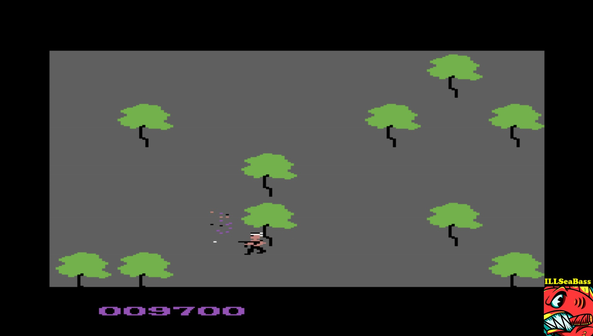 ILLSeaBass: Samurai Hunter (Commodore 64 Emulated) 9,700 points on 2017-06-06 00:00:18