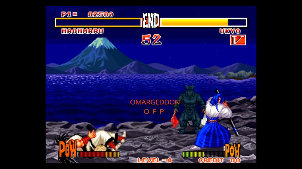 Samurai Shodown 82,580 points