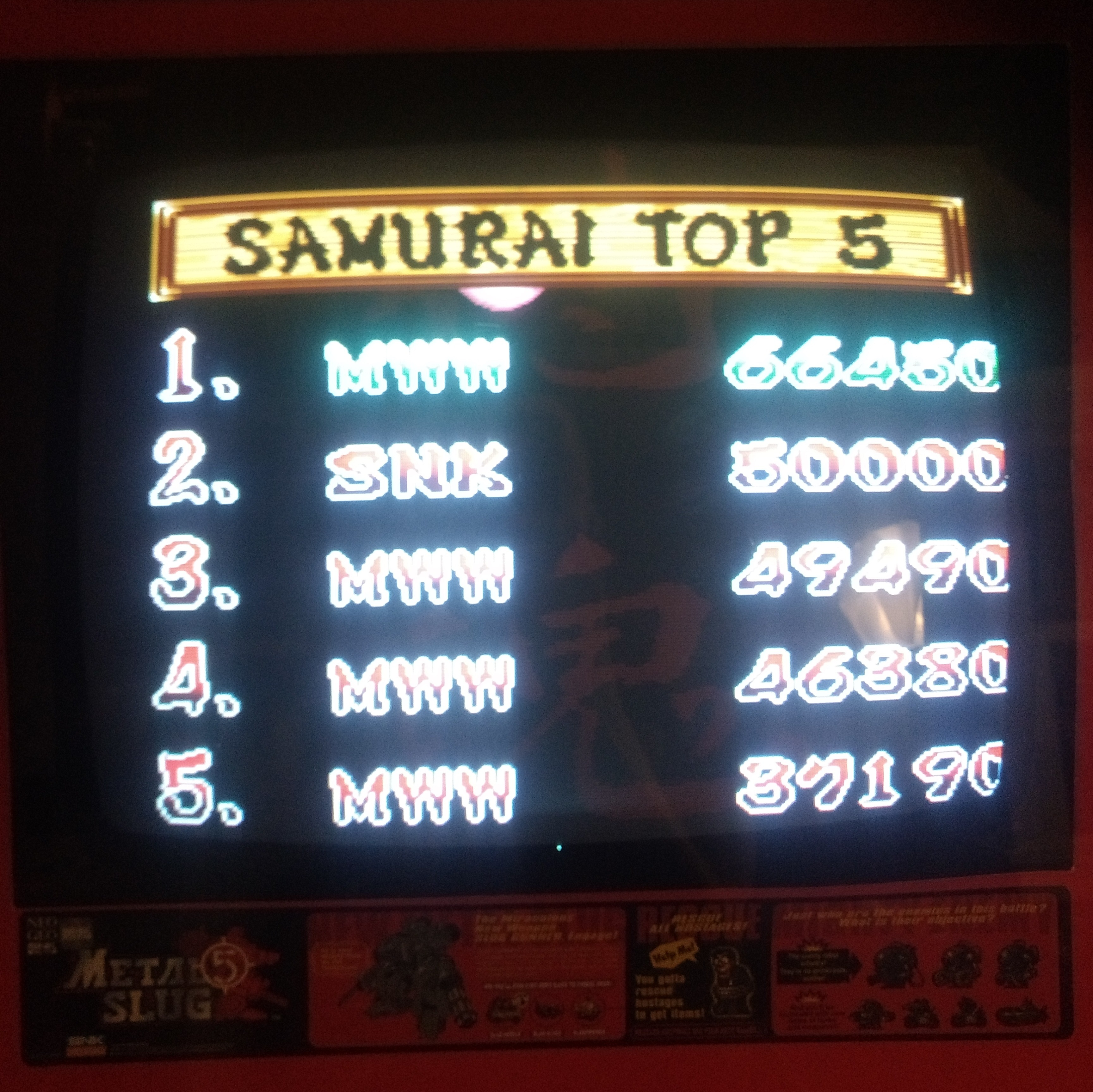 D3fk0nZ3r0: Samurai Shodown (Neo Geo) 66,450 points on 2018-09-08 19:42:08