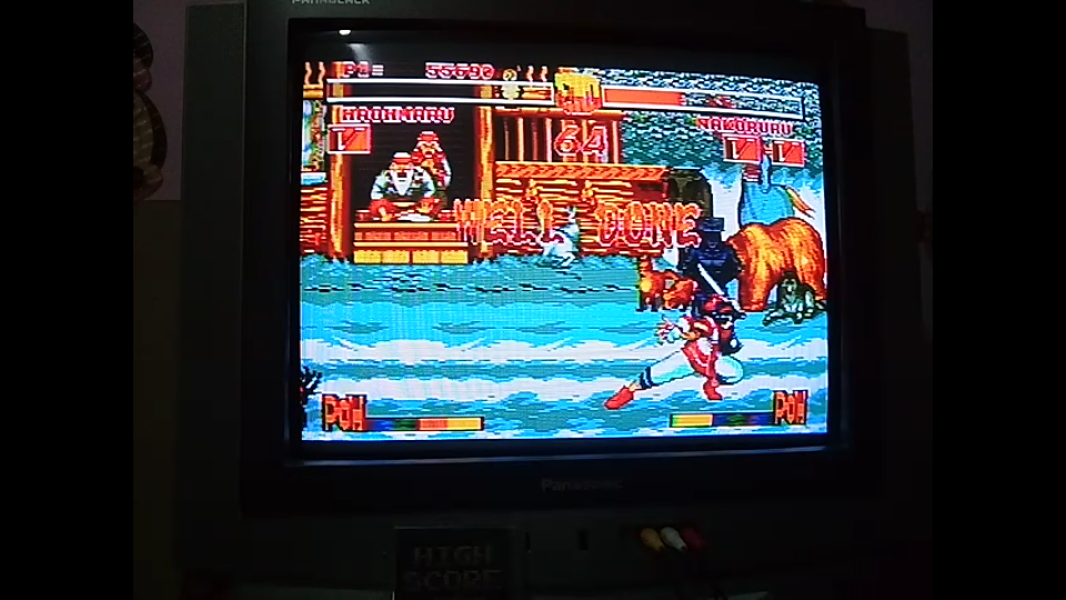 omargeddon: Samurai Shodown (Sega Genesis / MegaDrive) 55,690 points on 2019-03-21 17:12:37