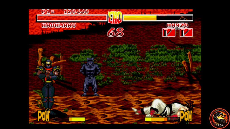 omargeddon: Samurai Shodown (Sega Genesis / MegaDrive Emulated) 120,440 points on 2020-07-05 01:02:53