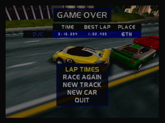 San Francisco Rush 2049: Single Race [Track 1/Laps 3/Backward off/Mirror off] time of 0:03:16.654