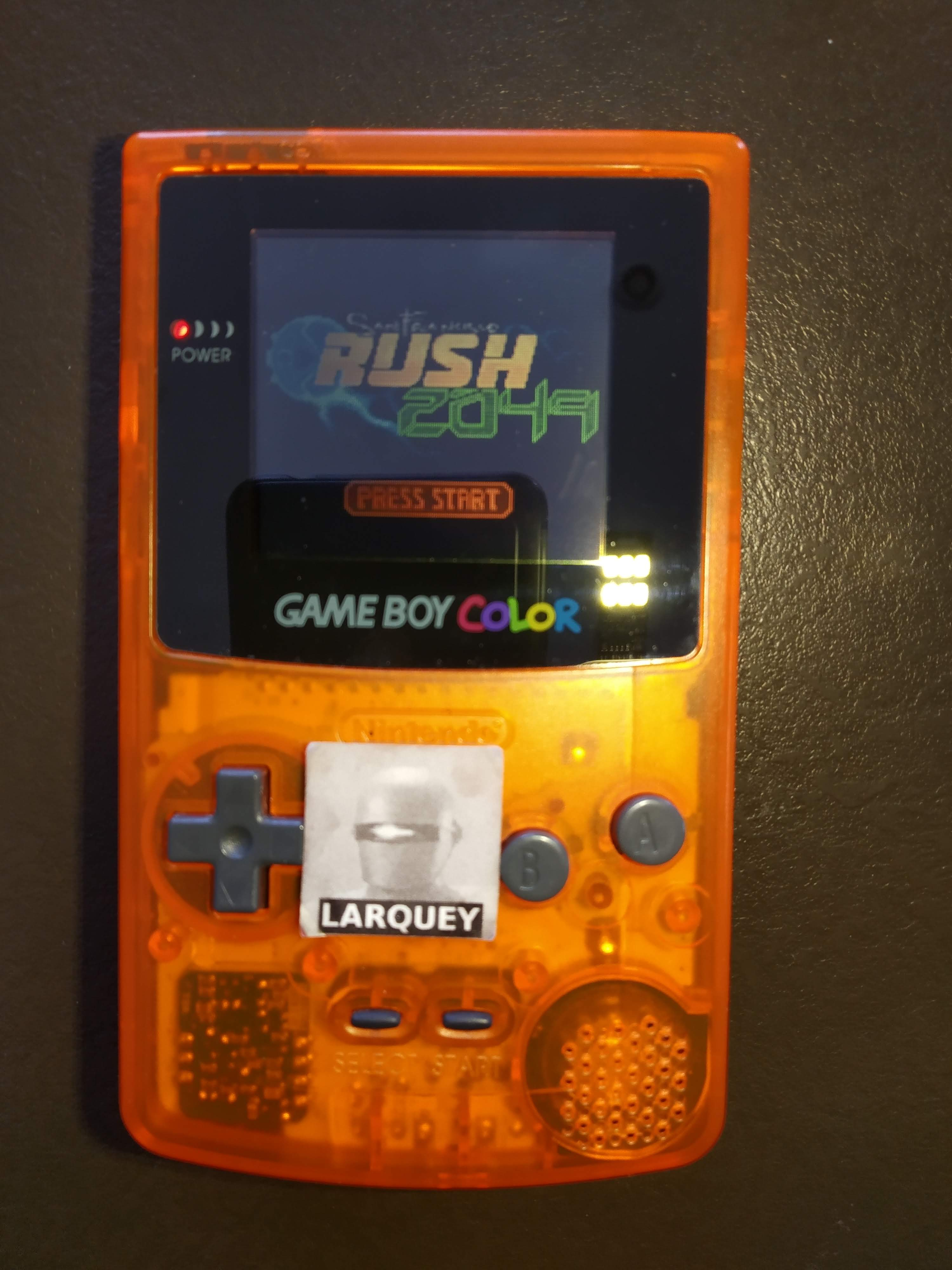 Larquey: San Francisco Rush 2049: Time Trial [Track 1] (Game Boy Color) 0:01:43.1 points on 2020-07-25 04:48:48