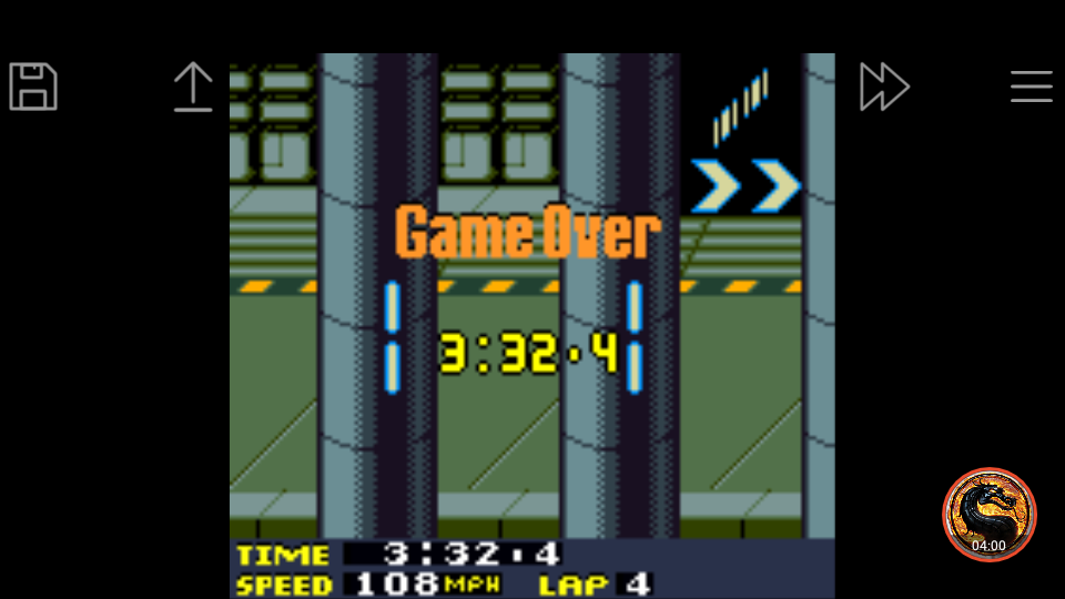 omargeddon: San Francisco Rush 2049: Time Trial [Track 7] (Game Boy Color Emulated) 0:03:32.4 points on 2019-03-31 17:35:45