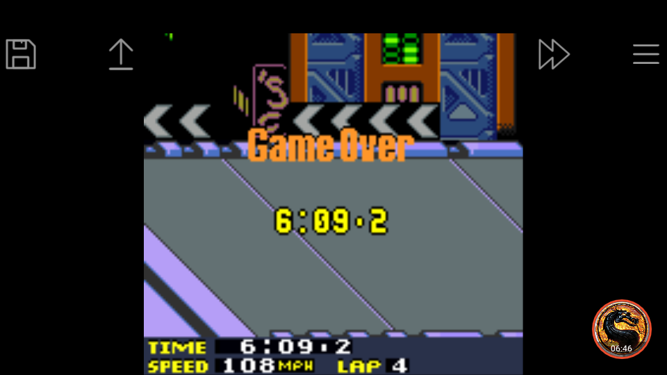 omargeddon: San Francisco Rush 2049: Time Trial [Track 8] (Game Boy Color Emulated) 0:06:09.2 points on 2019-03-31 17:36:27