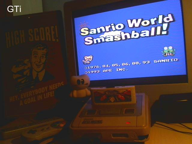 GTibel: Sanrio World Smash Ball! [Rounds Completed] (SNES/Super Famicom) 11 points on 2016-11-20 01:37:11