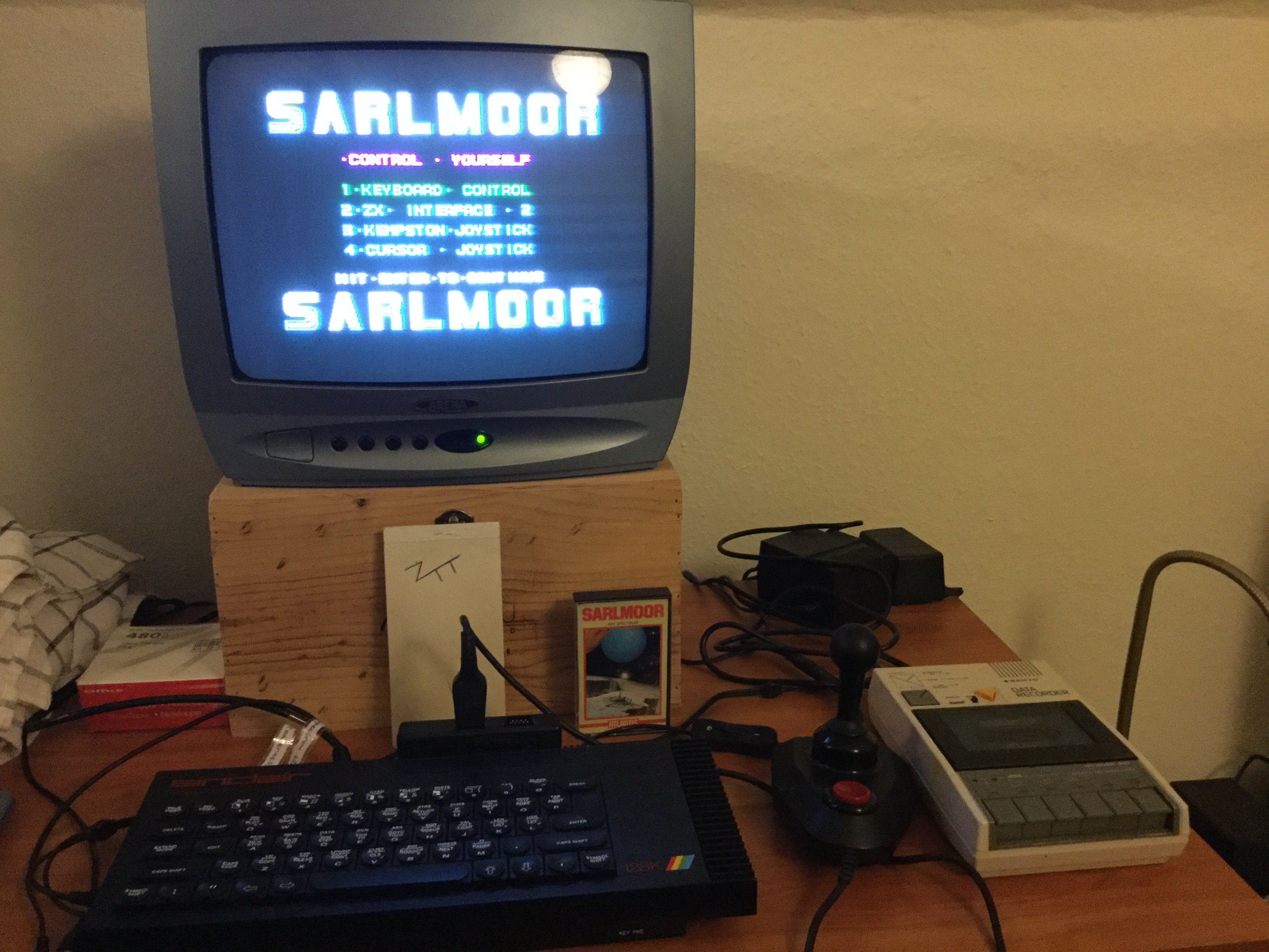 Frankie: Sarlmoor (ZX Spectrum) 3,700 points on 2019-02-25 12:01:07