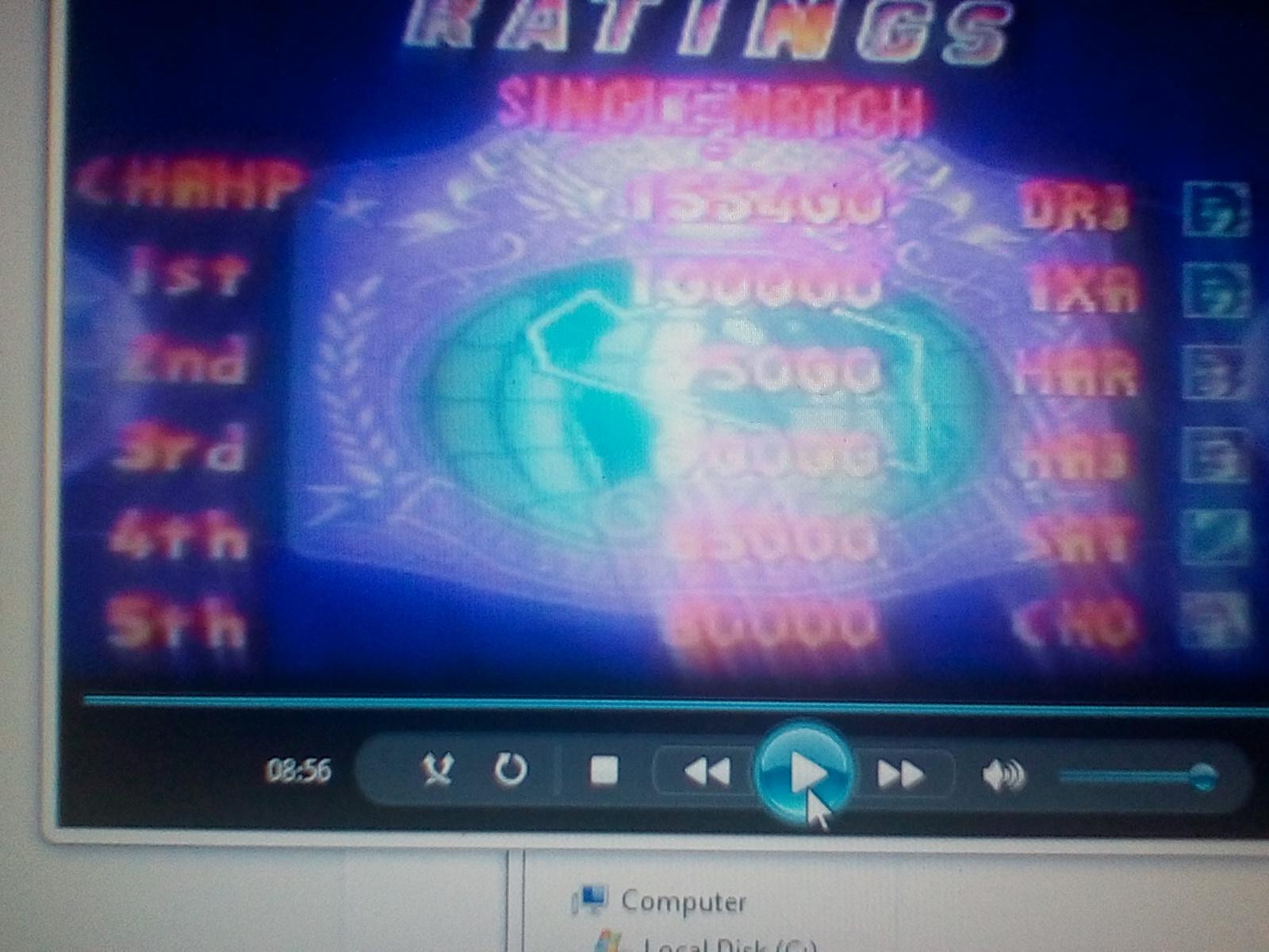 DrJoshDaReagamer22G: Saturday Night Slam Masters [Difficulty 1] (Sega Genesis / MegaDrive) 155,400 points on 2019-02-18 04:07:58