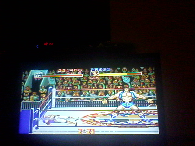 Saturday Night Slam Masters [Difficulty 5] 221,400 points