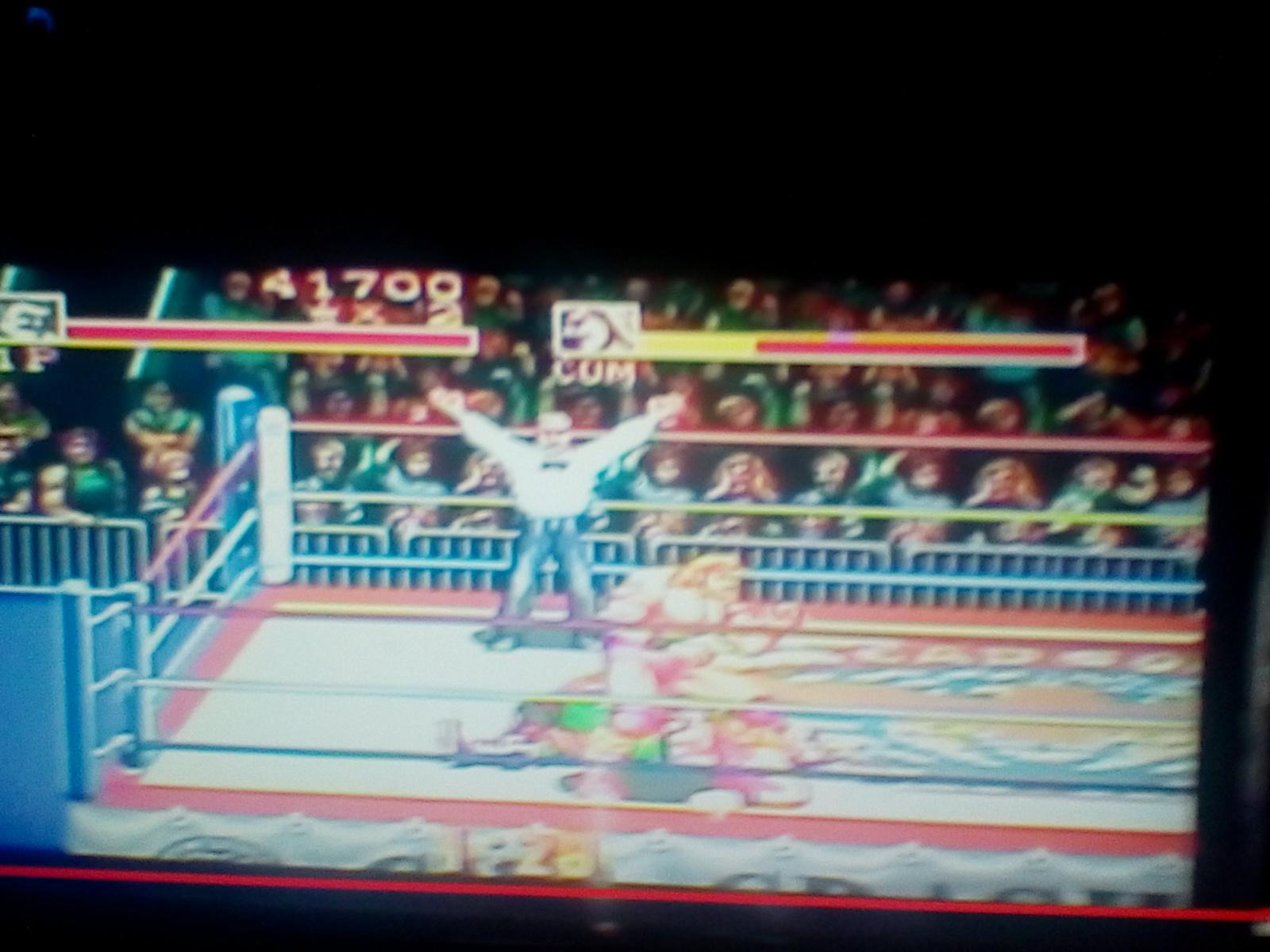 DrJoshDaReagamer22: Saturday Night Slam Masters: Single Match [Difficulty 3] (SNES/Super Famicom) 41,700 points on 2018-06-09 16:08:09