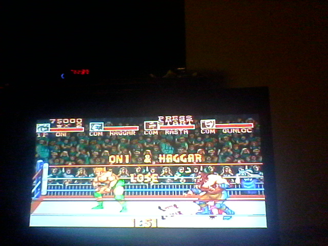 Saturday Night Slam Masters [Team Battle Royal] [Difficulty 4] 75,000 points