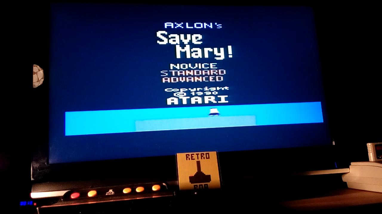RetroRob: Save Mary [Novice] (Atari 2600 Emulated) 16,810 points on 2019-07-06 01:27:31