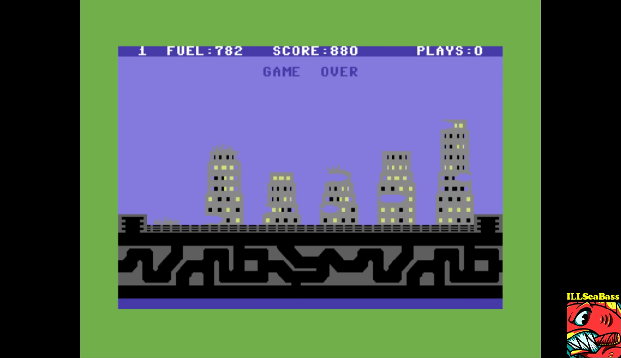 ILLSeaBass: Save New York (Commodore 64 Emulated) 880 points on 2017-01-15 23:51:30