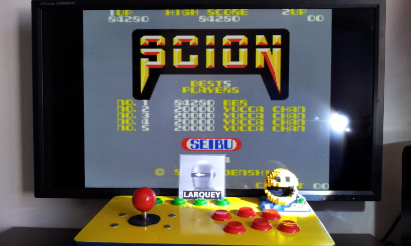 Larquey: Scion [scion] (Arcade Emulated / M.A.M.E.) 84,280 points on 2017-04-18 10:27:57