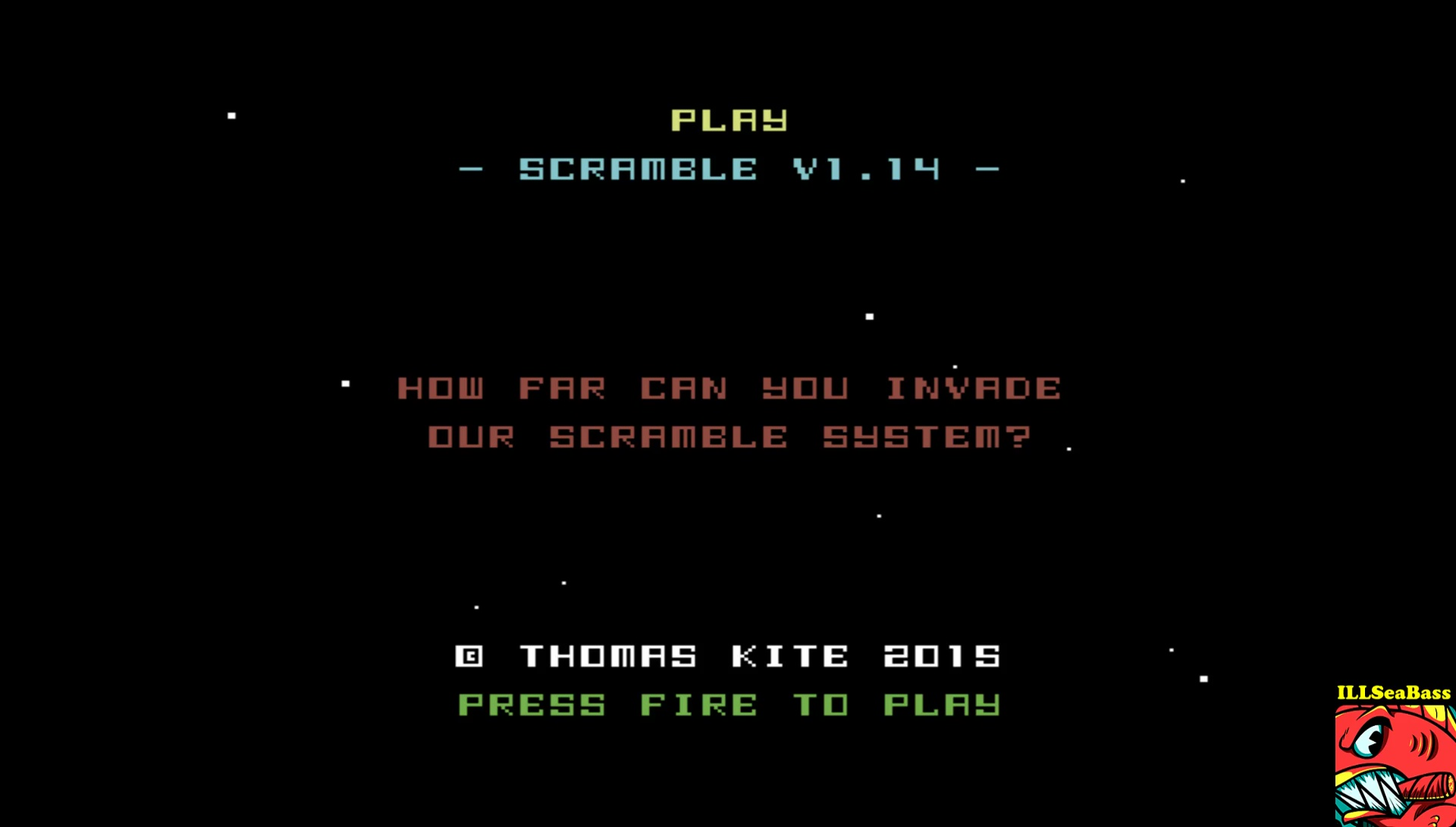 ILLSeaBass: Scramble 2015 [V1.14] (Commodore 64 Emulated) 29,470 points on 2017-06-02 22:16:51
