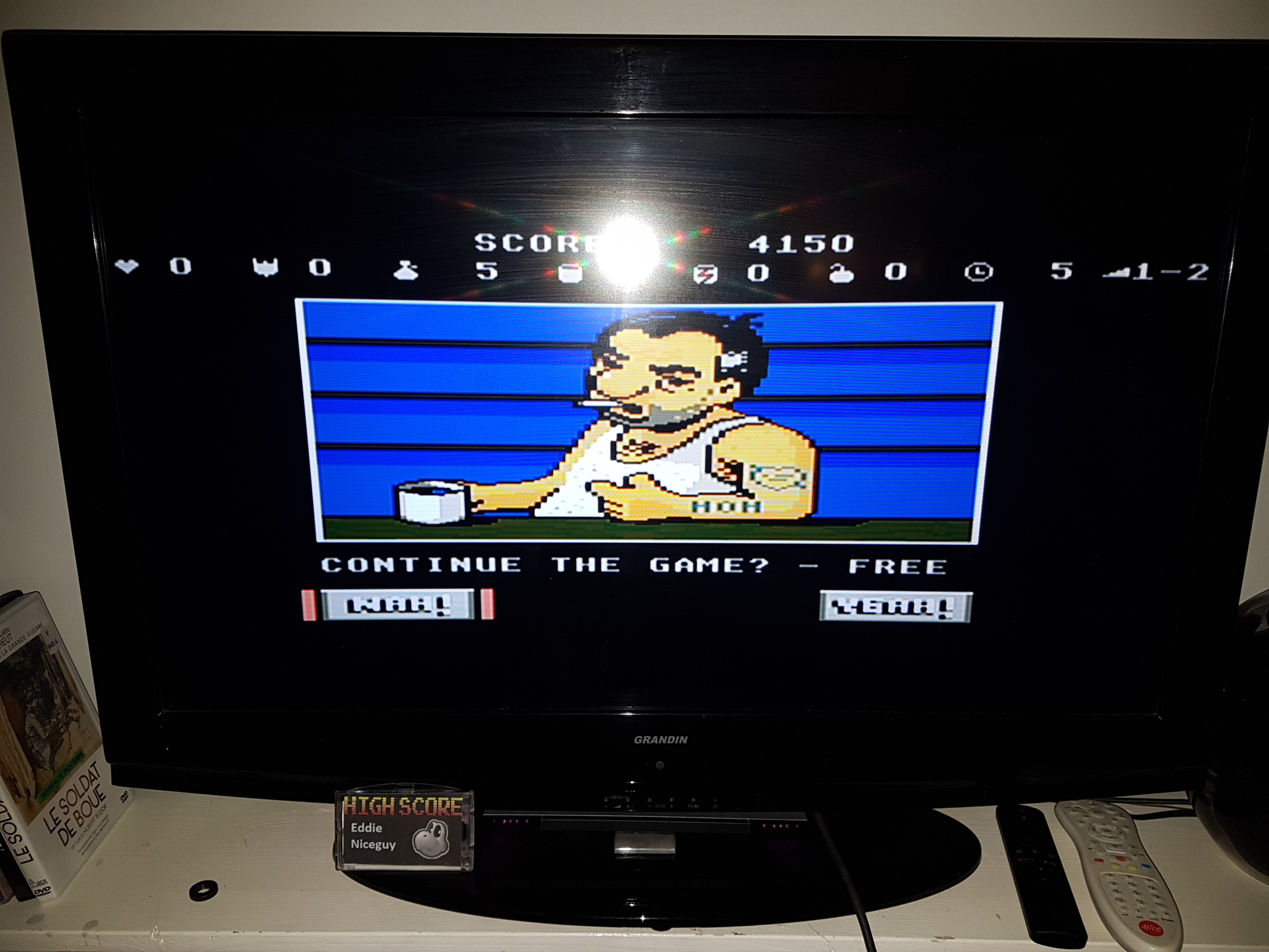 EddieNiceguy: Scrapyard Dog (Atari 7800 Emulated) 4,150 points on 2019-04-05 17:18:53
