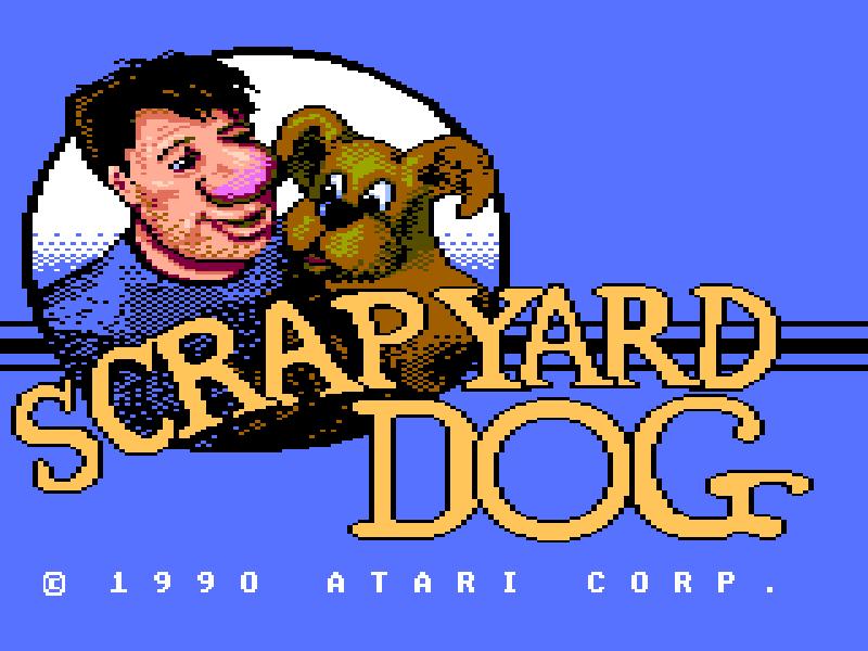 GAMES: Scrapyard Dog (Atari 7800) 9,600 points on 2019-12-28 20:36:18
