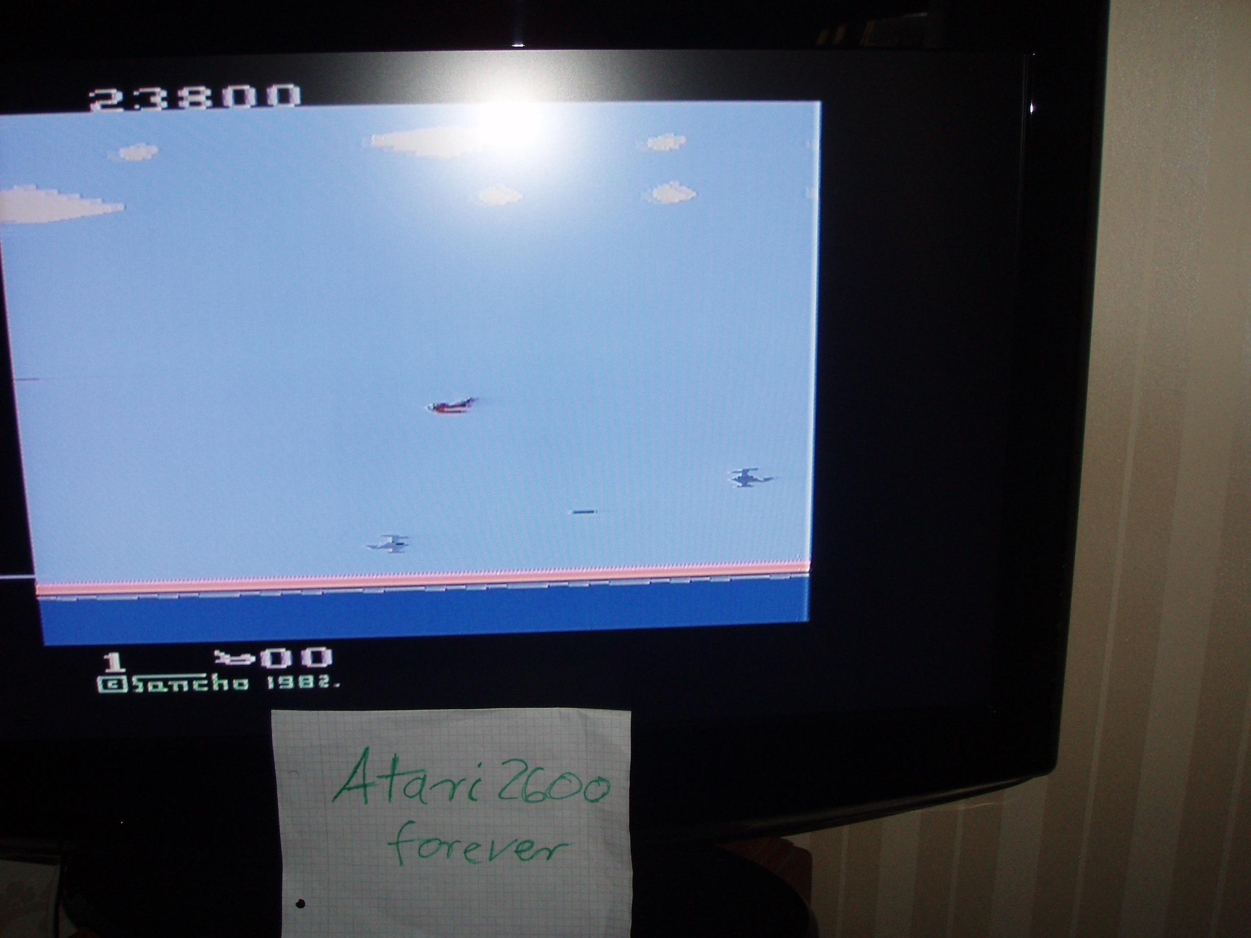 atari2600forever: Sea Hawk (Atari 2600 Novice/B) 23,800 points on 2015-12-14 10:20:21
