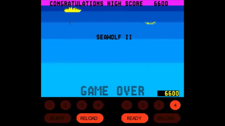 ed1475: Sea Wolf II [seawolf2] (Arcade Emulated / M.A.M.E.) 6,600 points on 2016-09-20 21:34:15