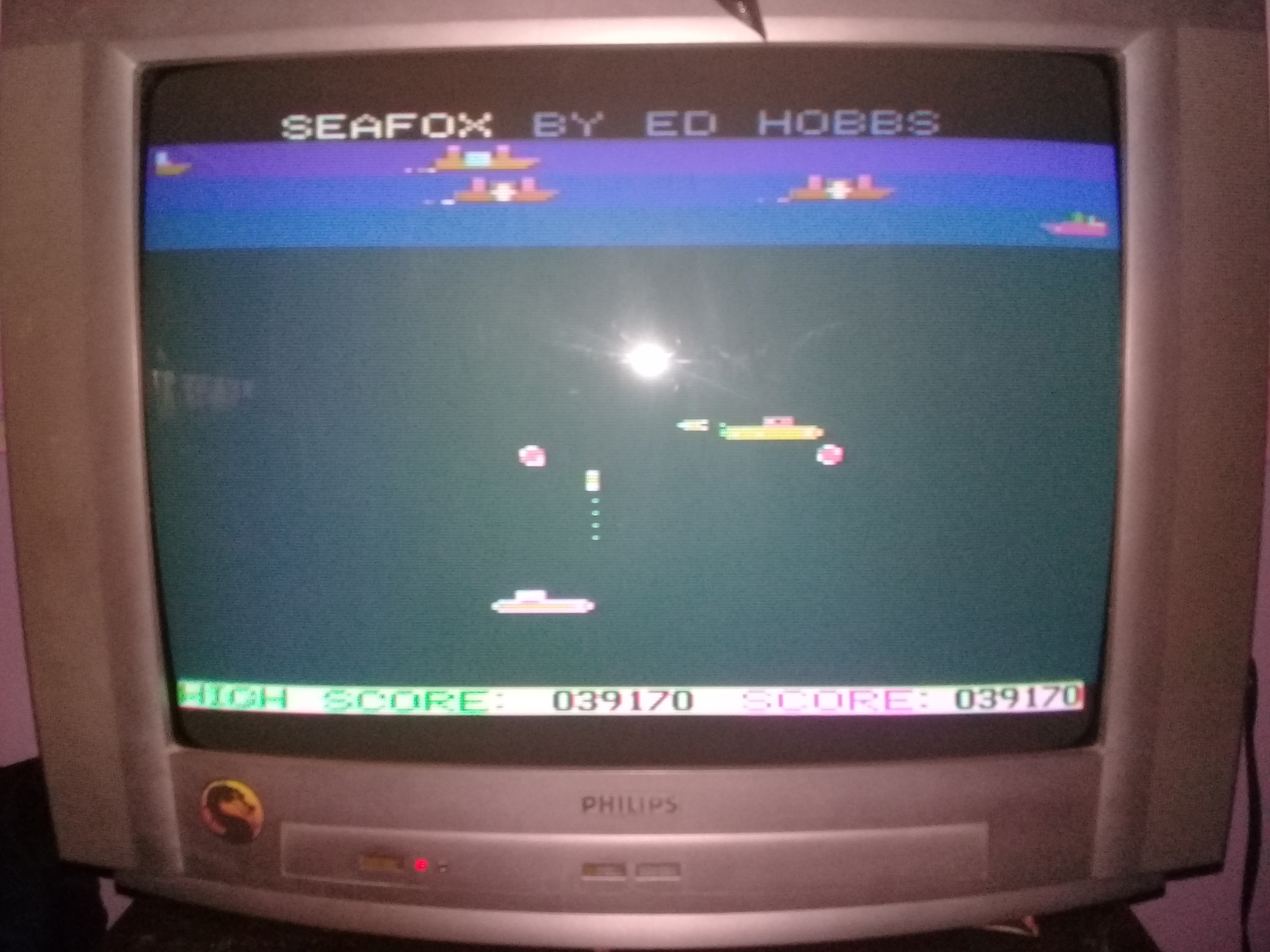omargeddon: Seafox (Atari 400/800/XL/XE) 39,170 points on 2020-03-30 10:27:31