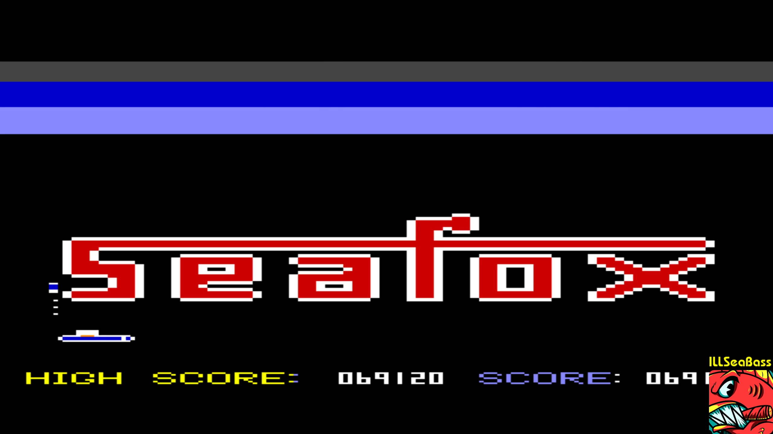 ILLSeaBass: Seafox (Commodore 64 Emulated) 69,120 points on 2018-02-24 23:04:57