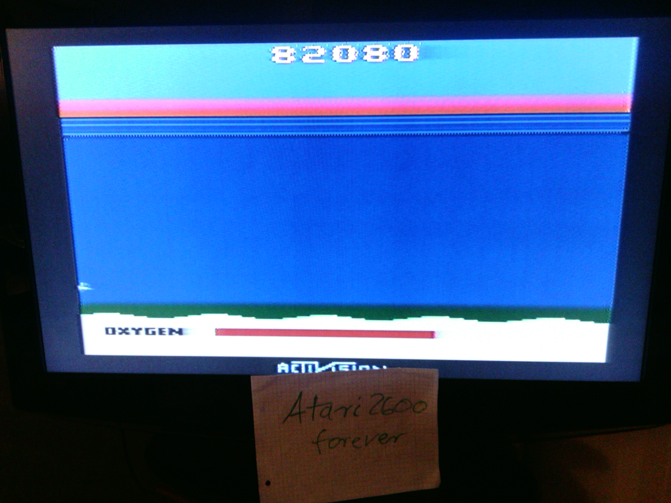 atari2600forever: Seaquest (Atari 2600 Expert/A) 82,080 points on 2016-07-11 14:39:19