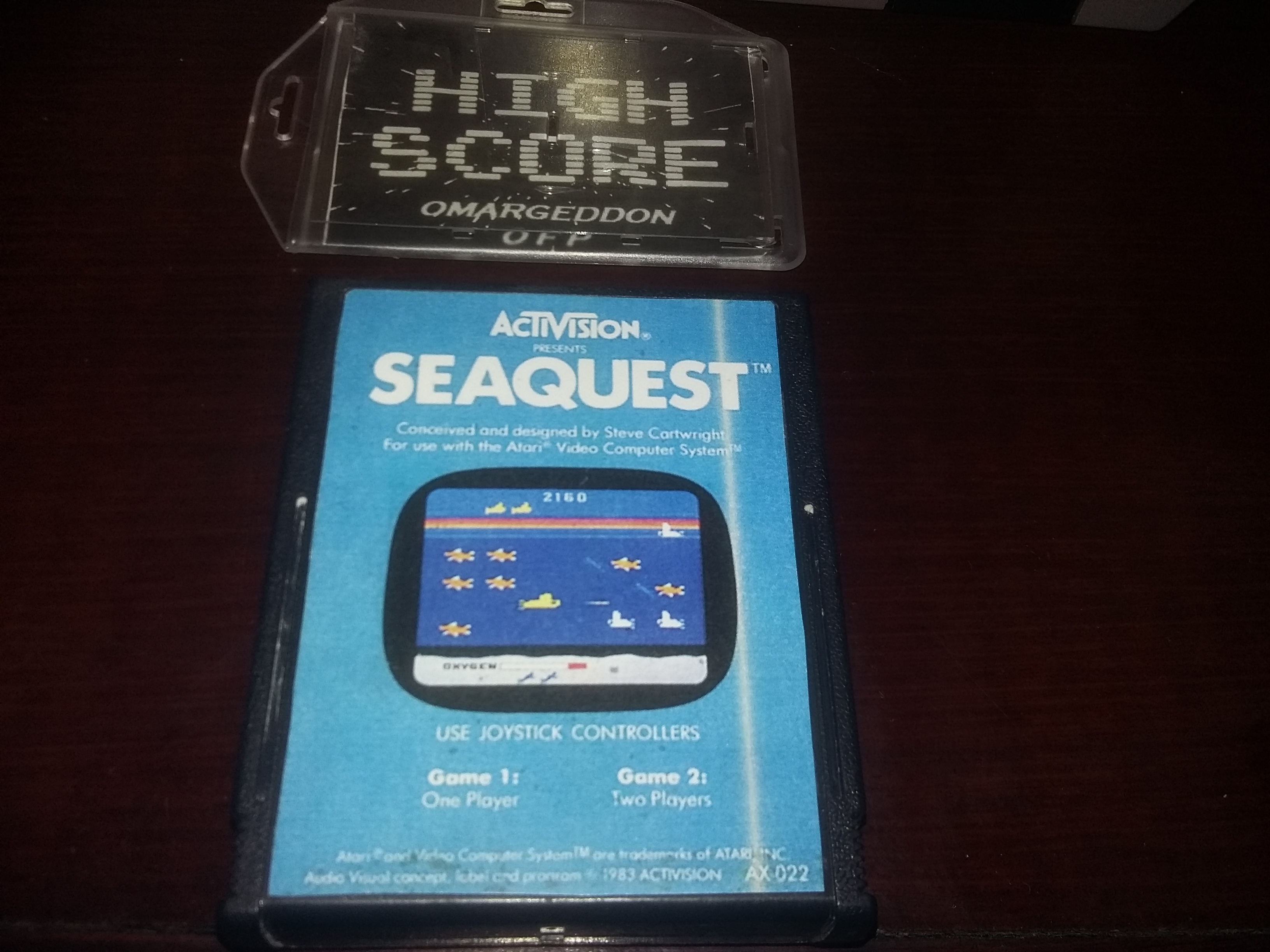 Seaquest 144,580 points