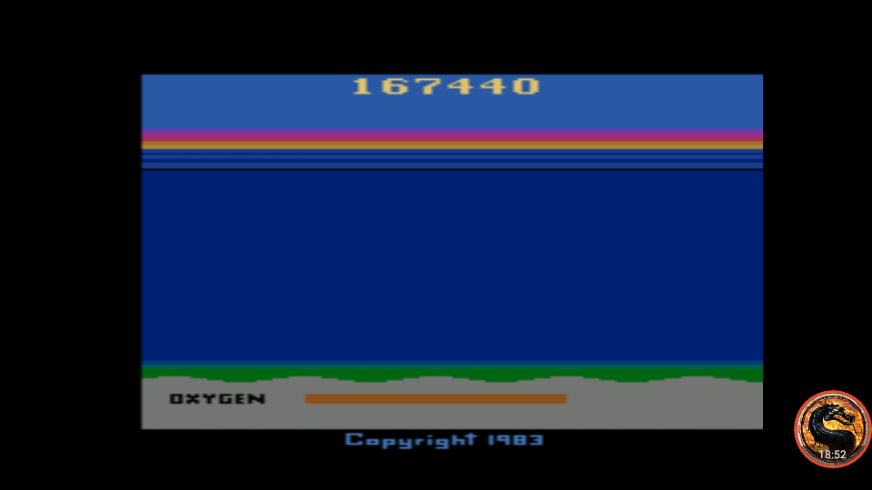omargeddon: Seaquest (Atari 2600 Emulated Expert/A Mode) 167,440 points on 2019-05-04 10:44:43