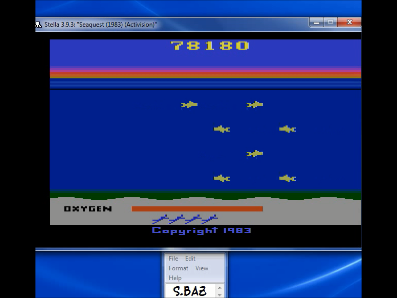 S.BAZ: Seaquest (Atari 2600 Emulated Novice/B Mode) 78,180 points on 2017-06-24 15:04:53