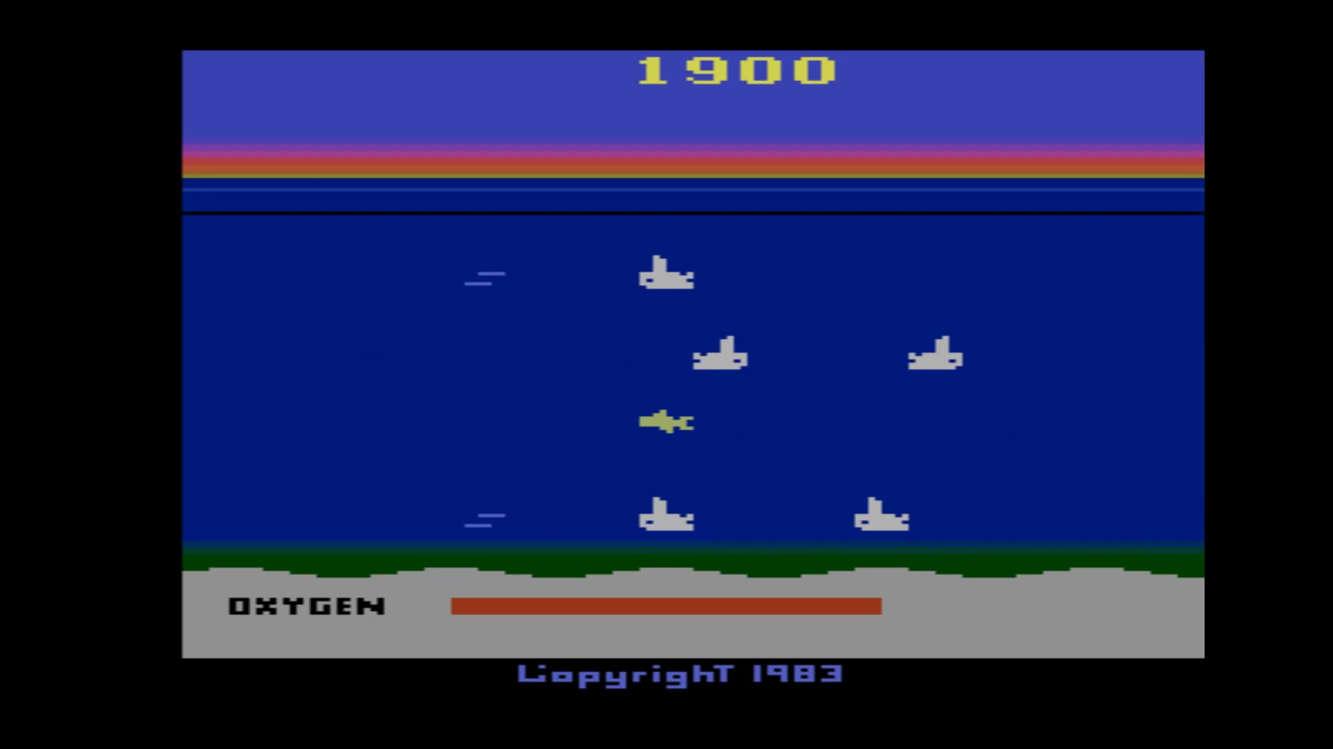 Seaquest 1,900 points