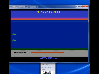 S.BAZ: Seaquest (Atari 2600 Emulated Novice/B Mode) 152,640 points on 2020-08-26 19:34:02