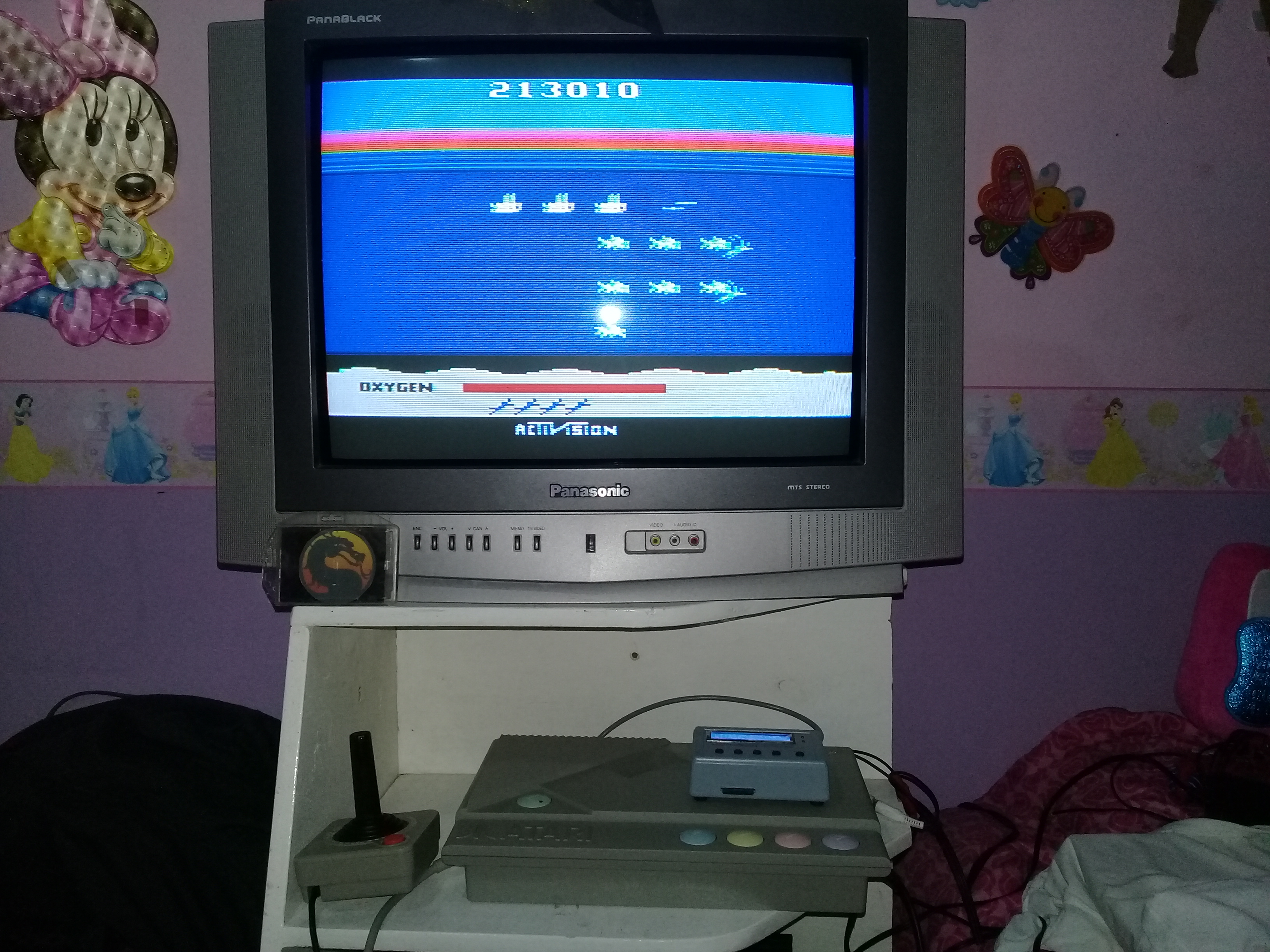 omargeddon: Seaquest: Game 1 (Atari 400/800/XL/XE) 213,010 points on 2019-12-30 22:00:11