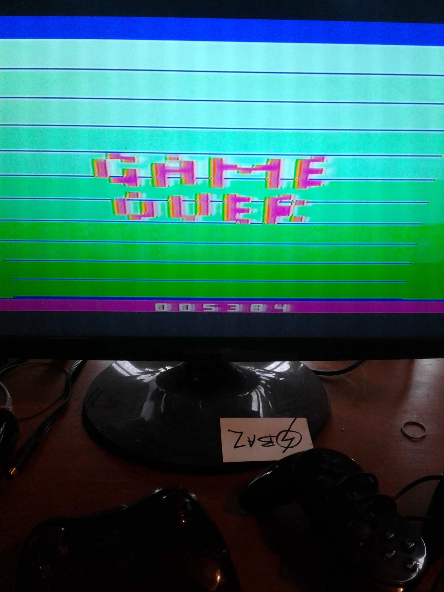 S.BAZ: Seaweed Assault (Atari 2600 Novice/B) 5,384 points on 2020-04-19 17:33:06