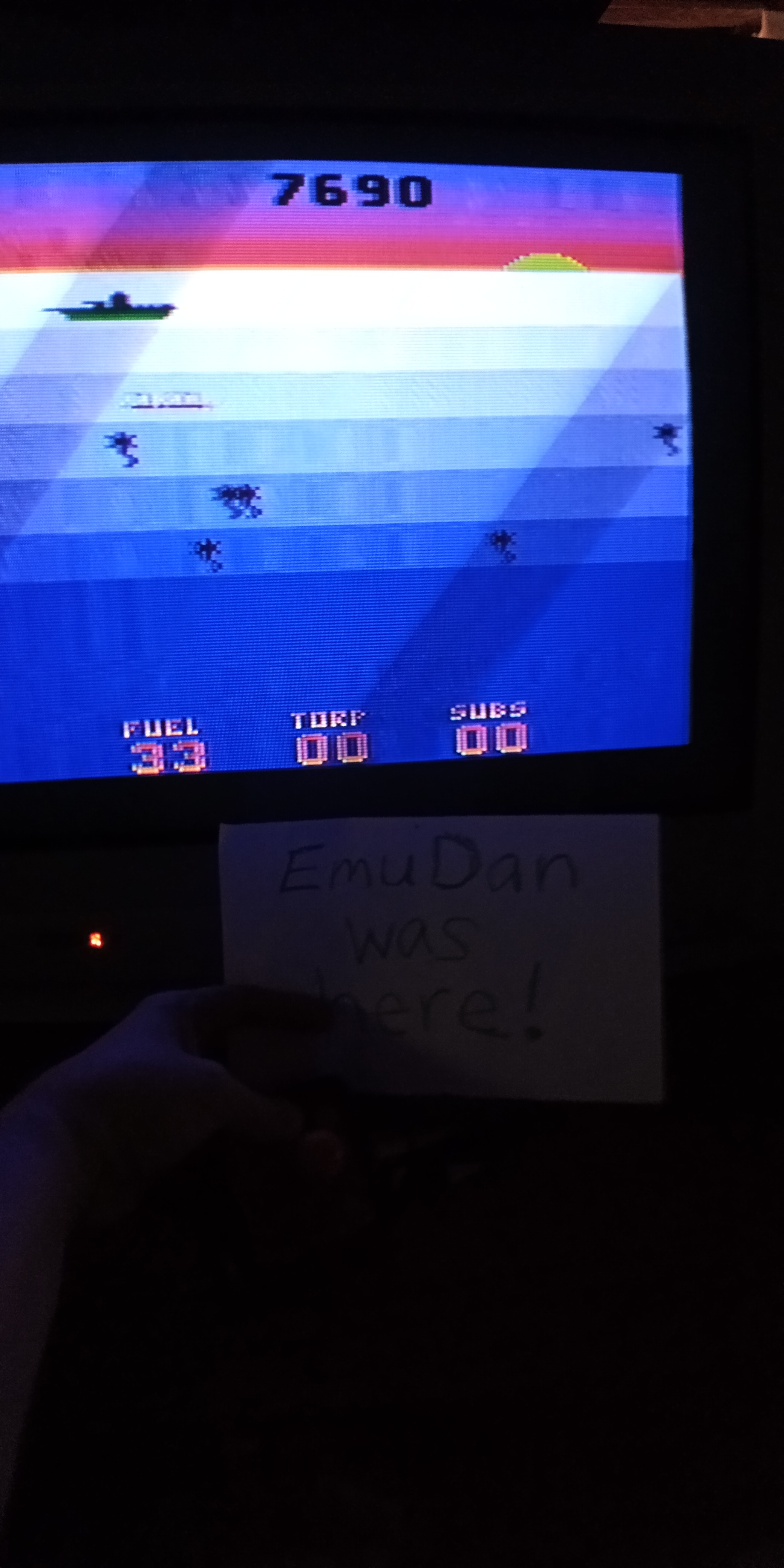 EmuDan: Seawolf (Atari 2600 Novice/B) 7,690 points on 2020-03-10 16:45:27