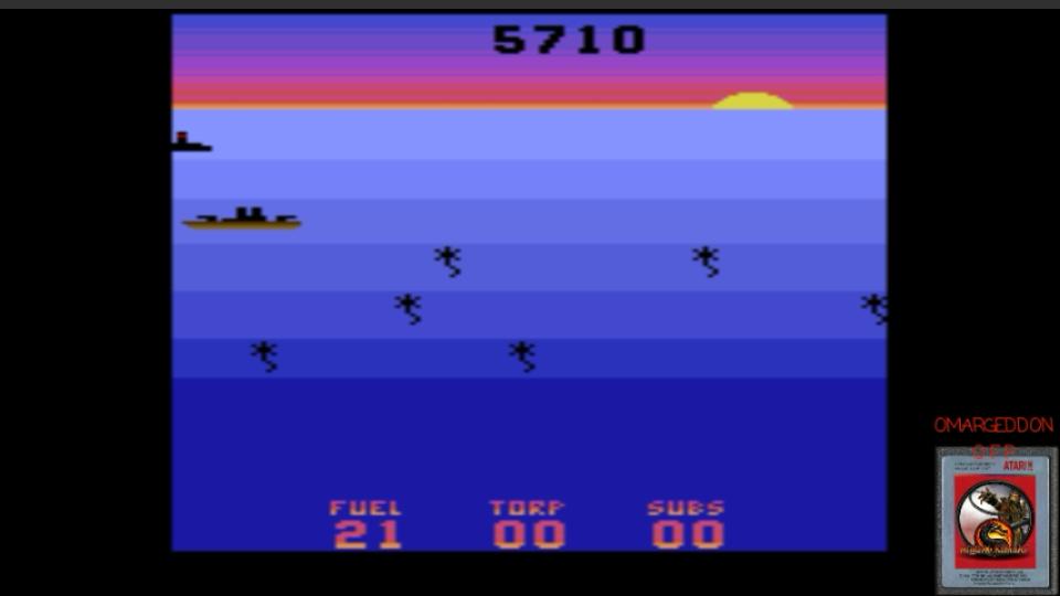 Seawolf 5,710 points