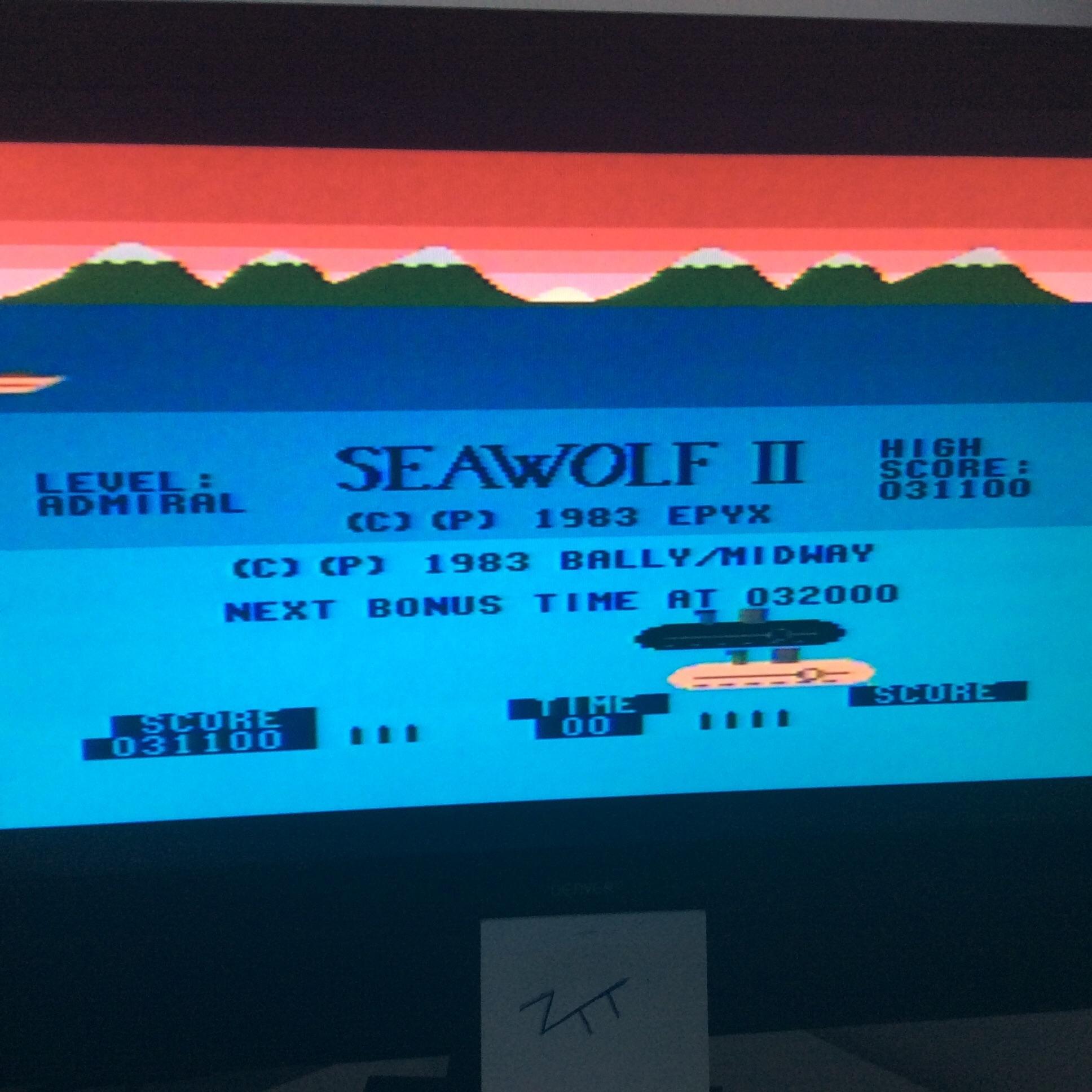 Seawolf II 31,100 points