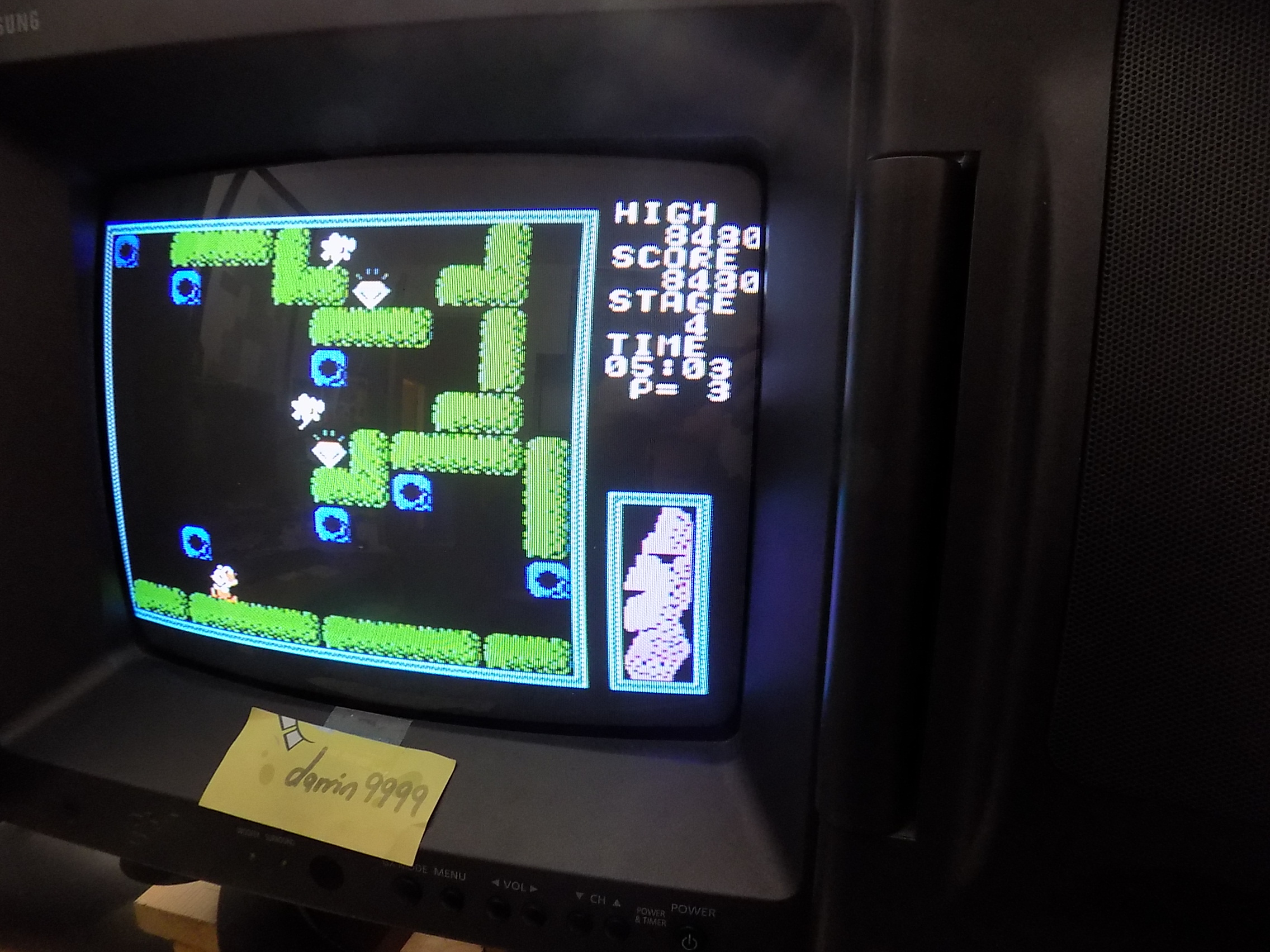 darrin9999: Secret Of The Moai (Colecovision) 8,480 points on 2018-03-21 16:27:19