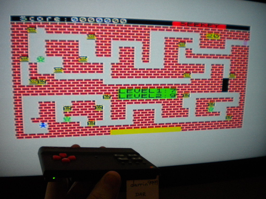 darrin9999: Seekey (ZX Spectrum Emulated) 3,000 points on 2016-09-25 11:27:26
