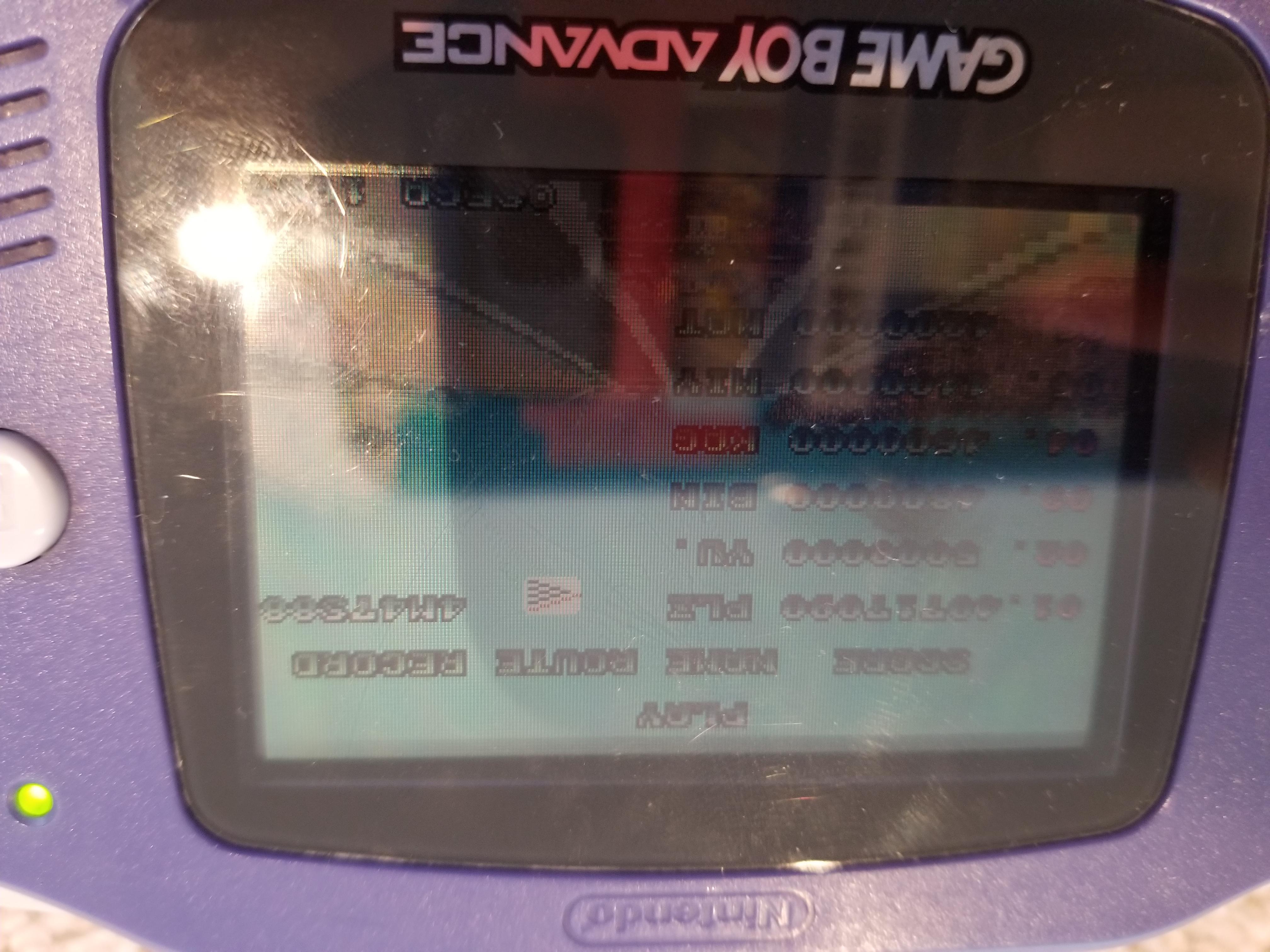 Daphilinator128bit: Sega Arcade Gallery: Outrun (GBA) 40,717,090 points on 2018-06-17 13:49:57