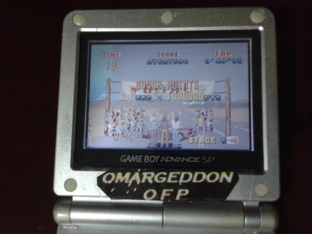 omargeddon: Sega Arcade Gallery: Outrun (GBA) 27,627,590 points on 2018-08-04 22:44:42